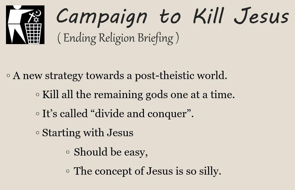 slide regarding the strategy of the campaign